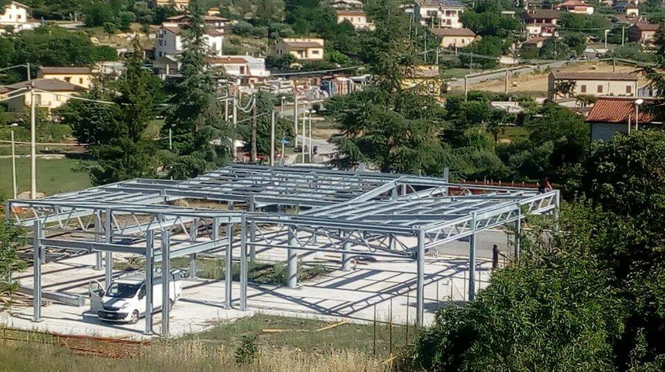 scuola Mascione Campobasso in costruzione