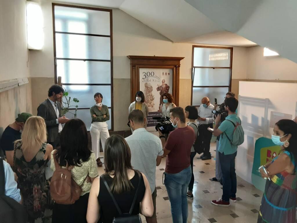 conferenza stampa Sea Campobasso Tomaro