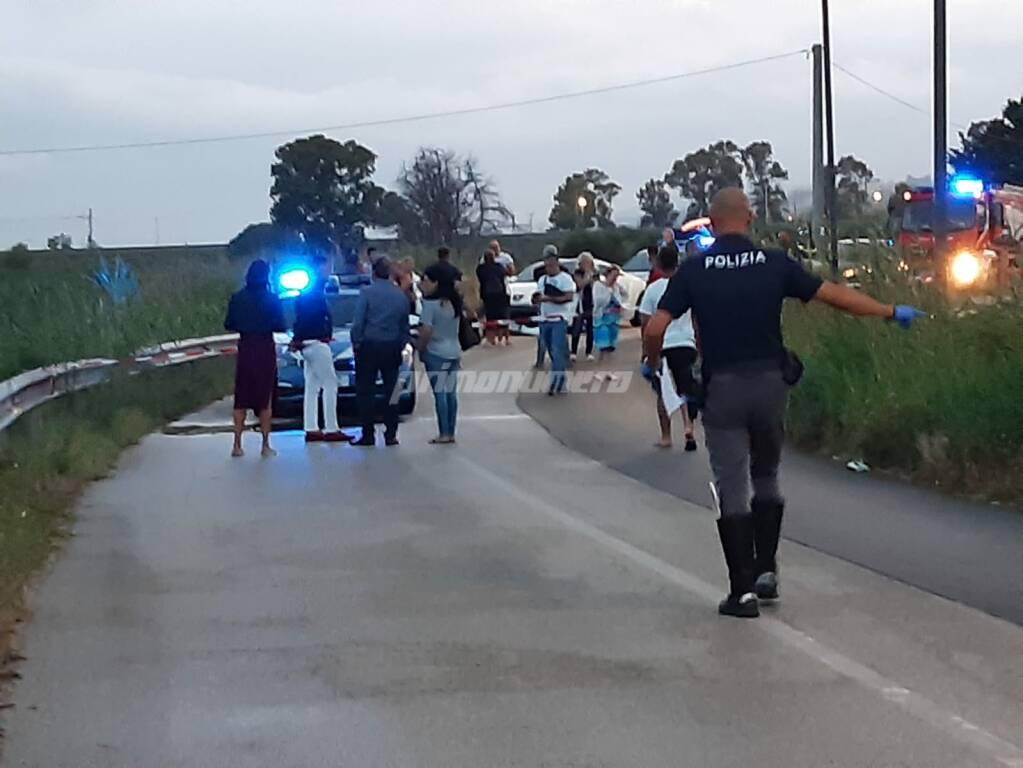 incidente mortale rio vivo
