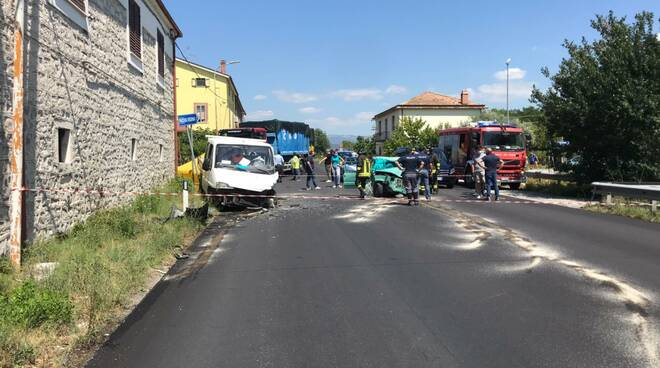 Incidente mortale macchia d'isernia