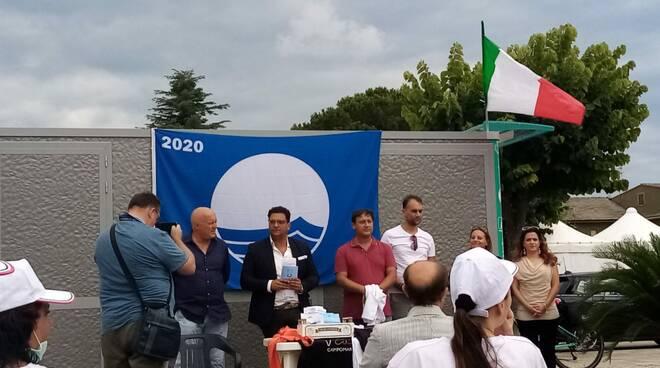 Info point Eco isola Campomarino Bandiera Blu inaugurazione estate 2020