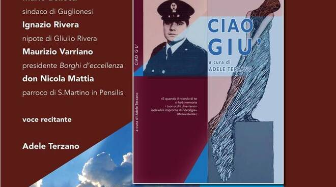 libro giulio rivera Ciao Giù presentazione