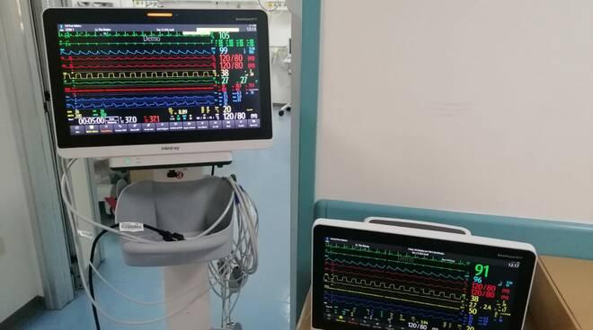Monitor terapia intensiva rianimazione veneziale Isernia