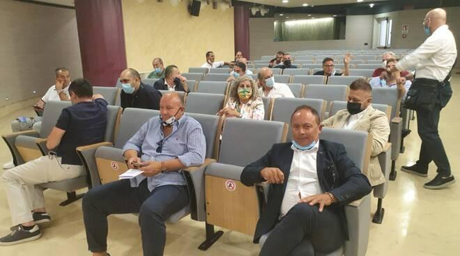 sindaci cratere sisma terremoto 2018 incontro toma regione