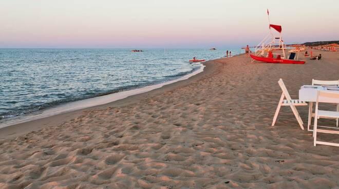 Spiaggia cene aperitivo lido eva