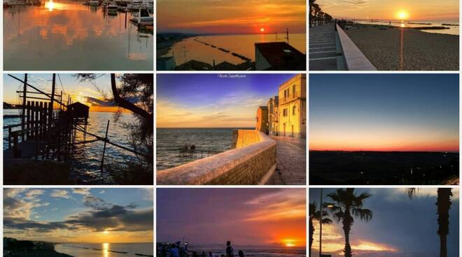 tramonti termoli collage