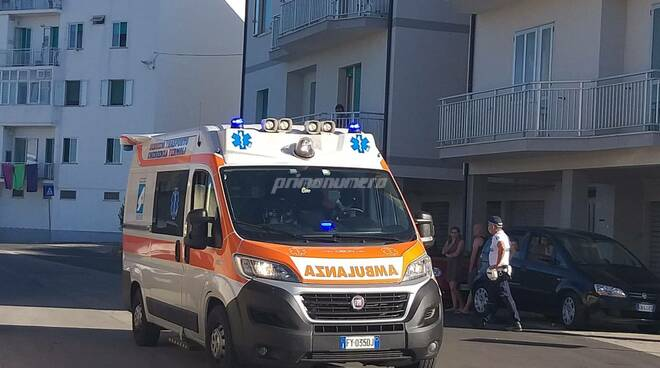 ambulanza 118 termoli stadio
