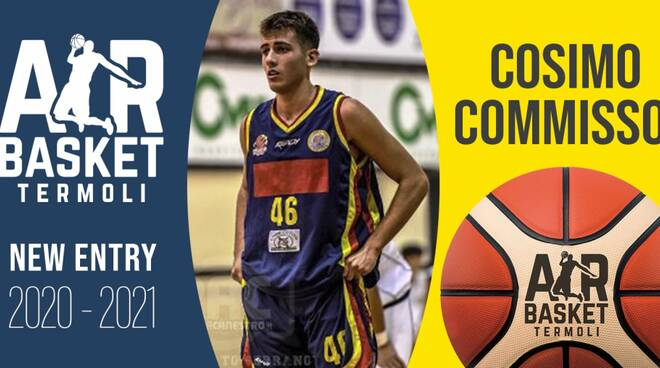 cosimo commisso air basket termoli