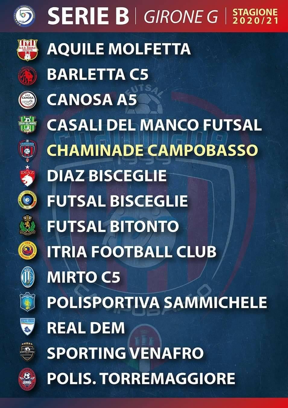 Girone G calcio a 5
