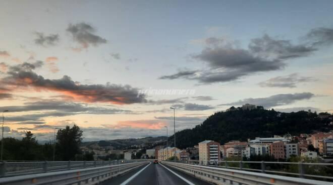 Campobasso tramonto
