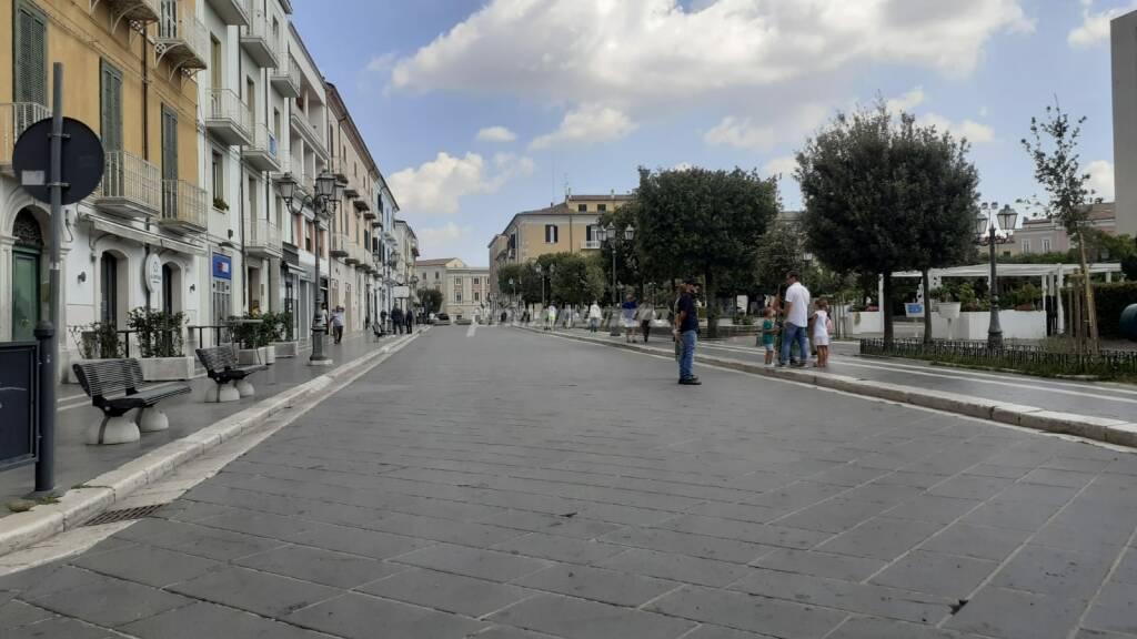 Corso Campobasso deserta 15 agosto