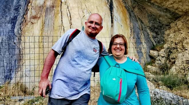 turisti arte rupestre civitanova sannio