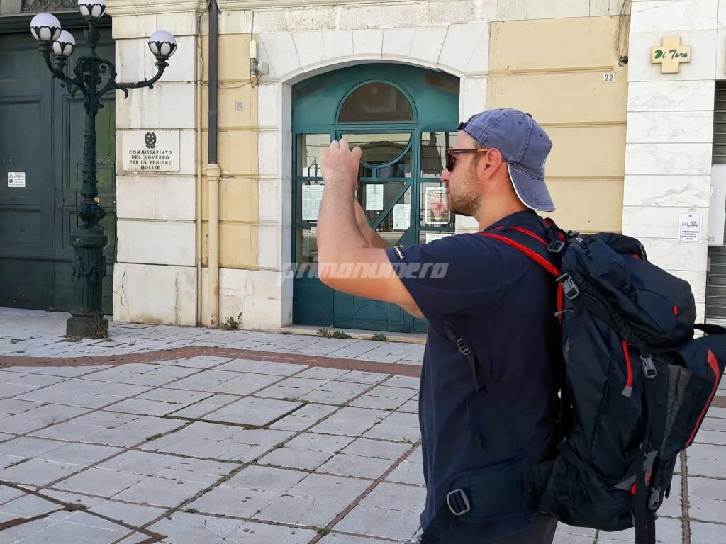 Vincenzo viaggio in Molise