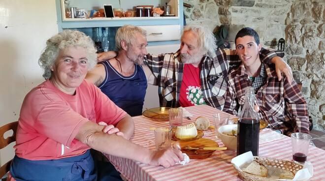 Famiglia Borraro con Pierluigi Giorgio