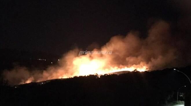 Incendio Santo Stefano-Castropignano