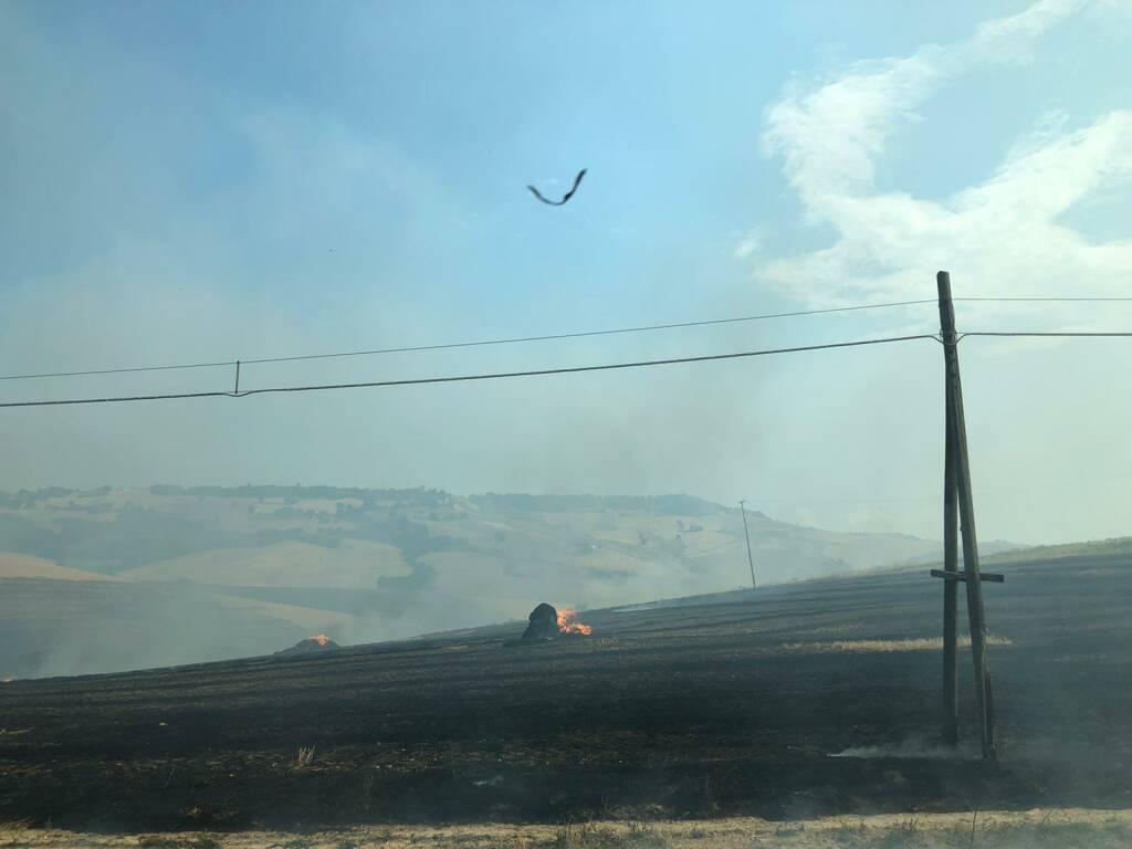 Incendio di vaira Petacciato