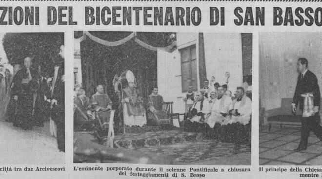 quotidiano messaggero san basso 1961
