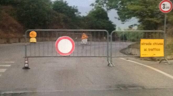 strada vaccareccia petacciato chiusa
