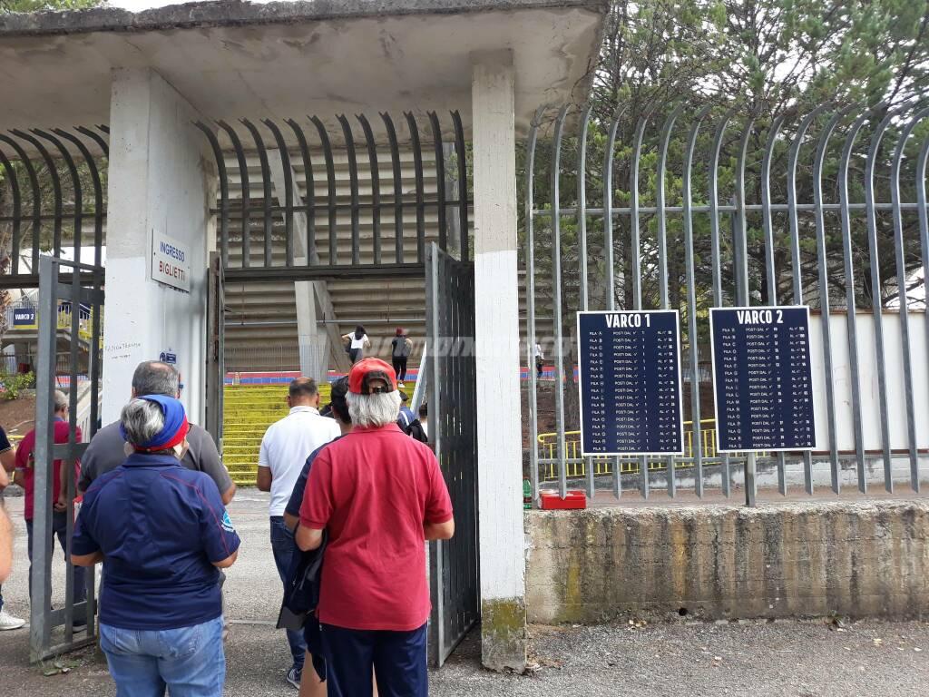 Campobasso-Cerignola amichevole 20 settembre 2020