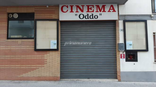 Cinema oddo chiuso Termoli