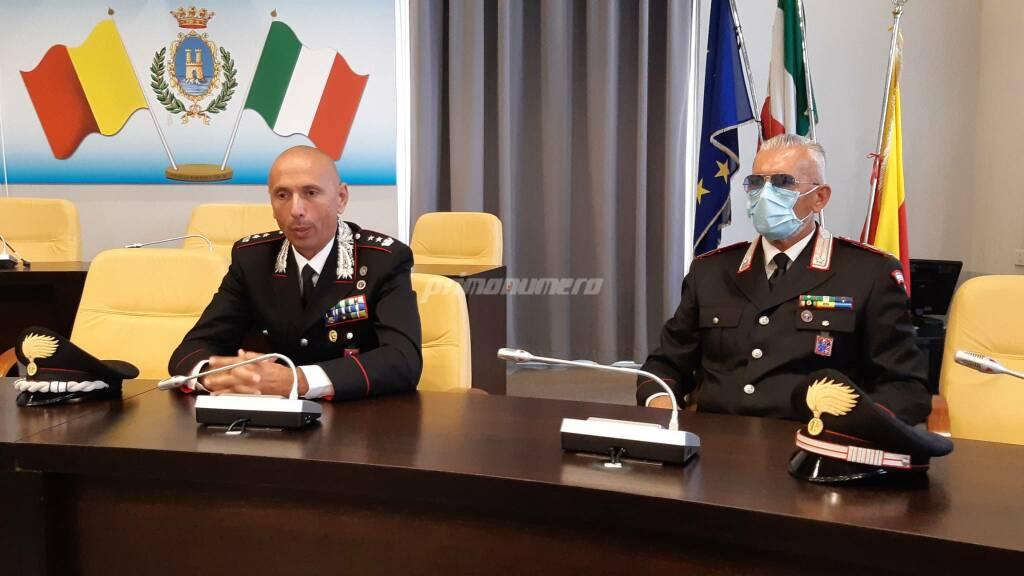 Ficuciello carabinieri saluti