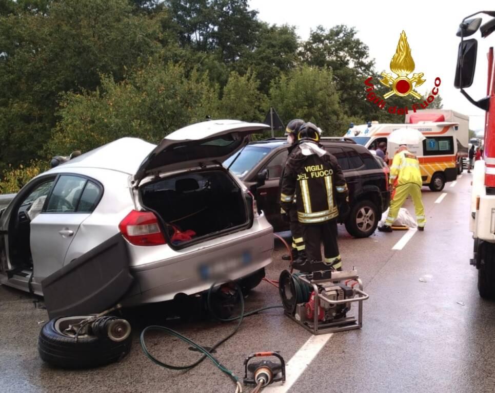 incidente ss87 sepino vvff