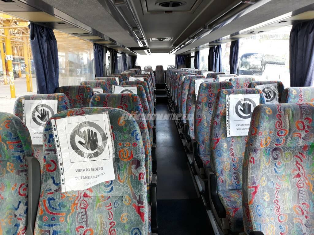 Autobus covid