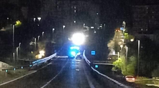 incidente in Tangenziale Campobasso orizzantale