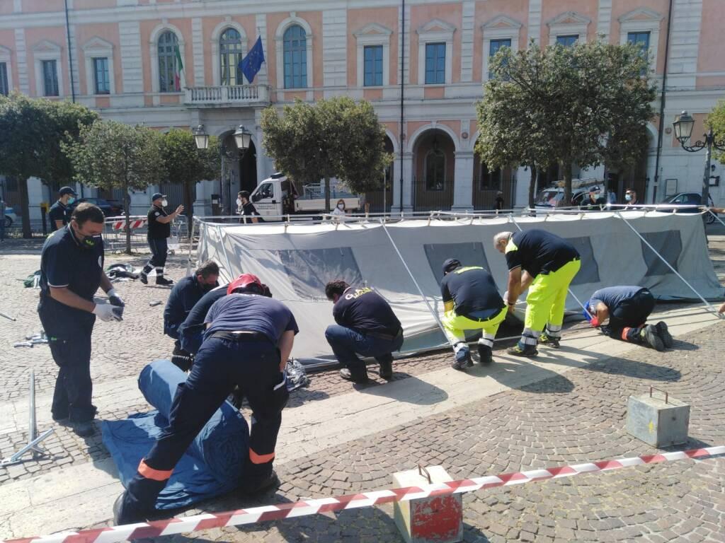 protezione civile piazza campobasso