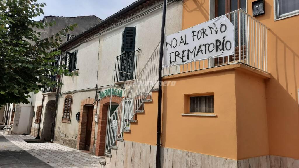 San Giovanni in Galdo forno crematorio