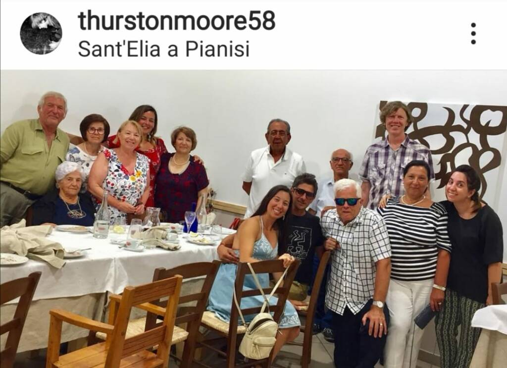 Thurston Moore a sant'elia a pianisi