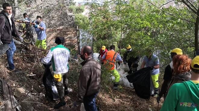 rifiuti collina Monforte Campobasso