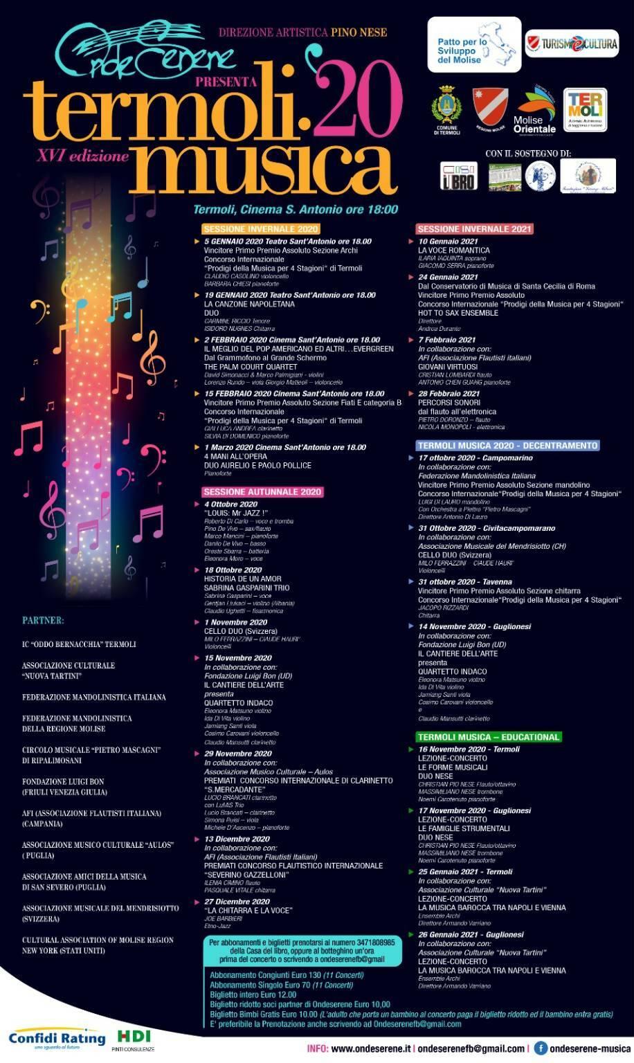 termoli musica 2020