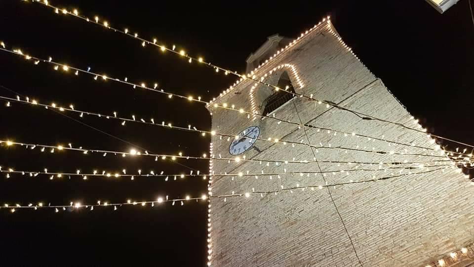 illuminazione borgo campomarino
