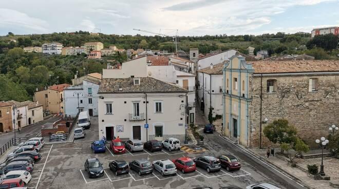 Larino centro storico comune e varie