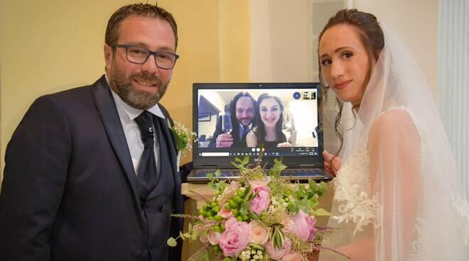 matrimonio casacalenda testimone via skype