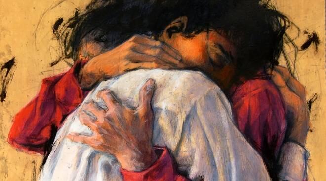 perdono abbraccio