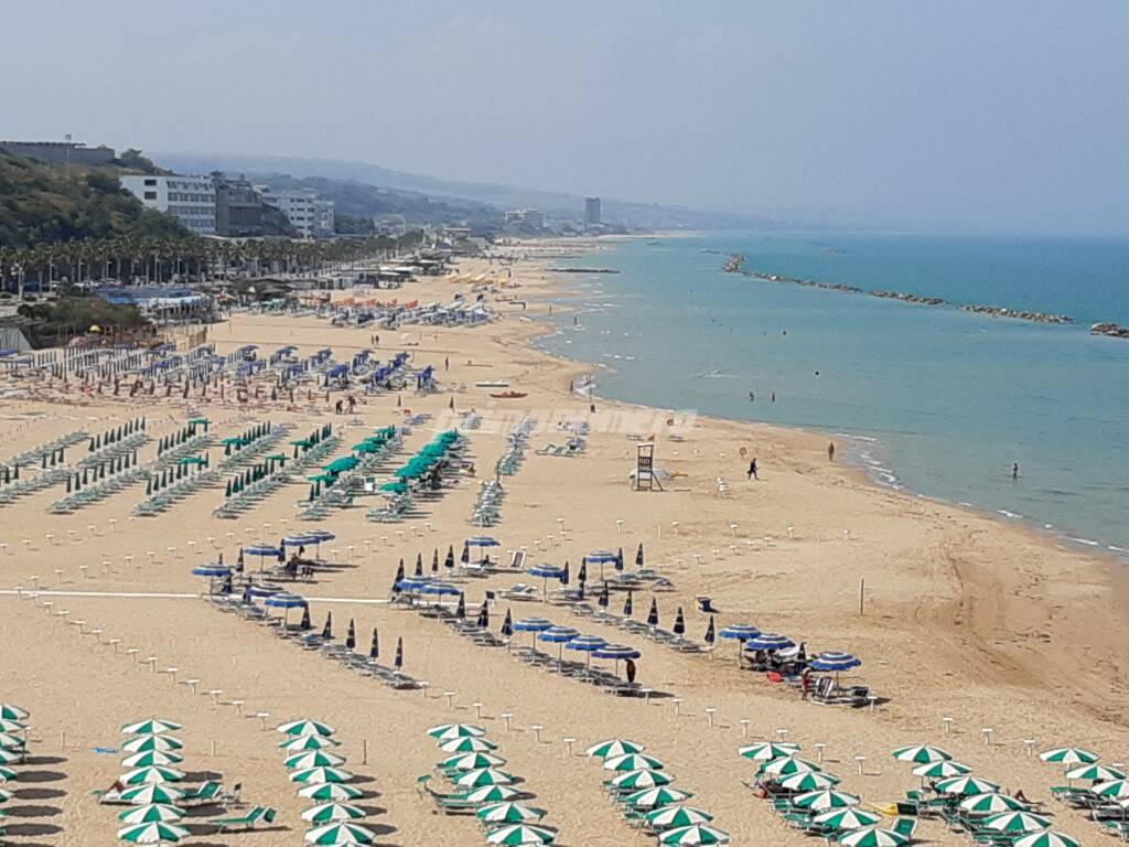 Spiaggia settembre Termoli