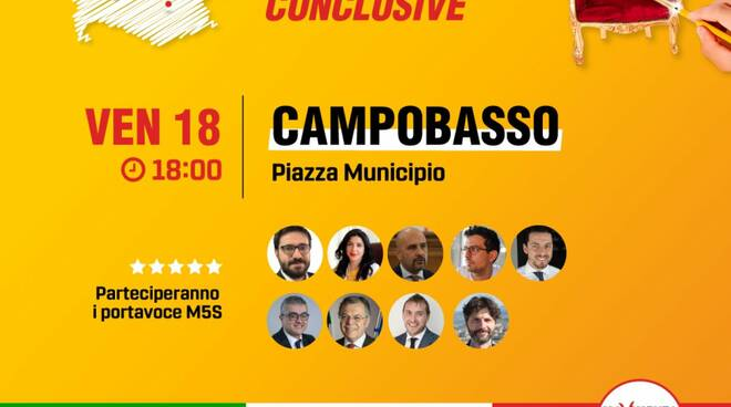 tour referendum m5s
