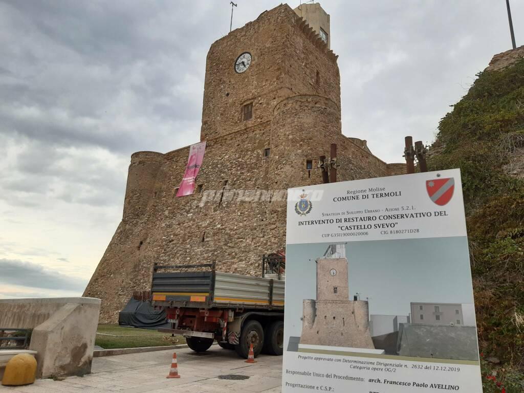 Castello svevo lavori