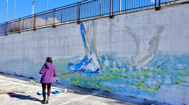 residenza artistica murales vinchiaturo
