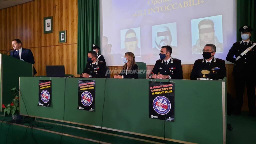 operazione gli intoccabili campobasso carabinieri