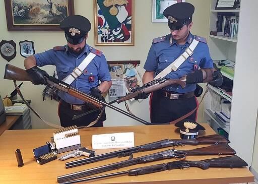 carabinieri frosolone armi
