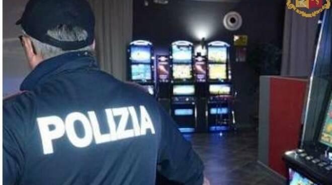 videolottery sale scommesse Polizia