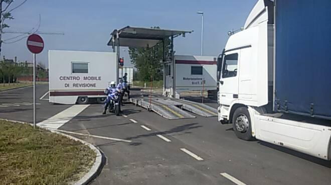 centri mobile di rivisione autostrada