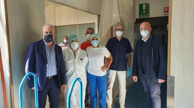 Florenzano lavori ampliamento Cardarelli
