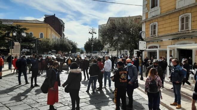 Protesta esercizi pubblici di Campobasso