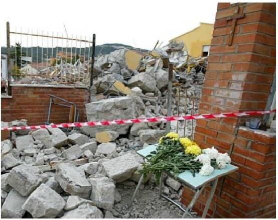 terremoto san giuliano crollo scuola jovine