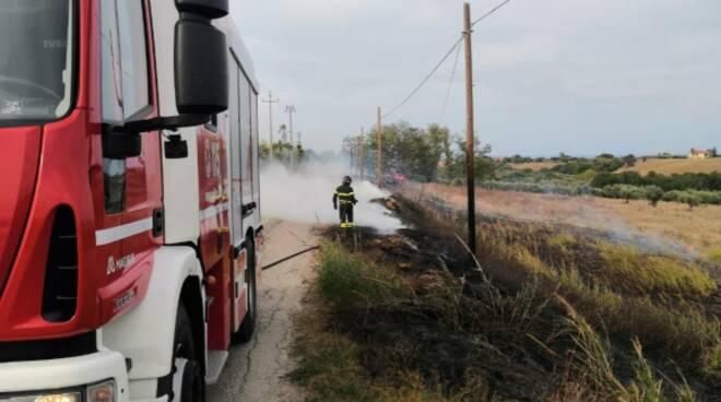 incendio via mincio termoli