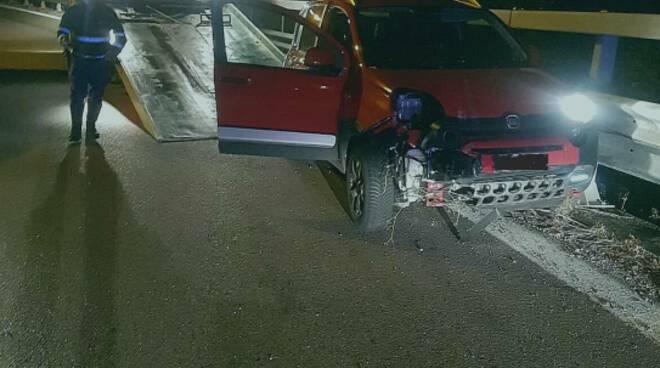 incidente inseguimento statale 87
